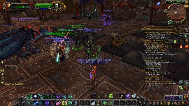 La suite de la guerre nous envoie défendre Fossoyeuse / attaquer Lordaeron Battle for Azeroth